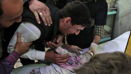Syrie: les frappes aériennes gouvernementales tuent six civils