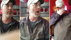 Une femme emmène son mari fêter ses 50 ans au restaurant. Quand ils arrivent, il n'en croit pas ses yeux