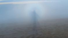 VIDEO – L'extraordinaire spectre de Brocken filmé en haut de la dune du Pilat