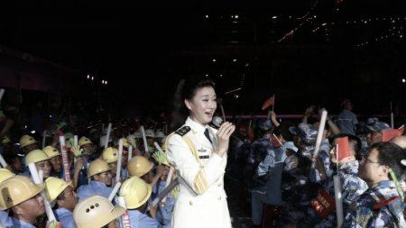 Une chanteuse et un comédien ont des problèmes avec le leadership chinois