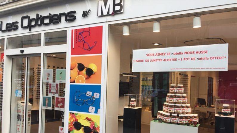 b027500c0d Un opticien à Boulogne-Billancourt : « Une paire de lunettes achetée, un  pot de Nutella offert »