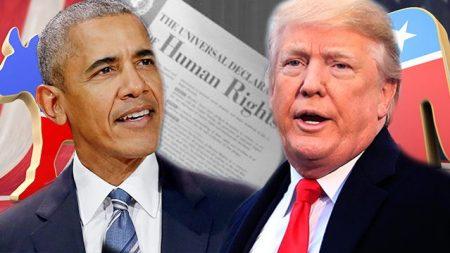 Obama versus Trump: droits de l'homme et politique étrangère