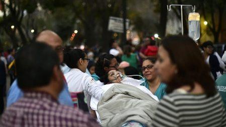 Un séisme de magnitude 7,2 sur l'échelle de Richter secoue le Mexique