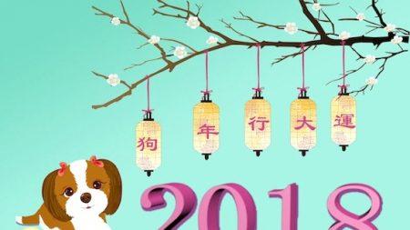 2018: une année placée sous le signe du Chien de Terre