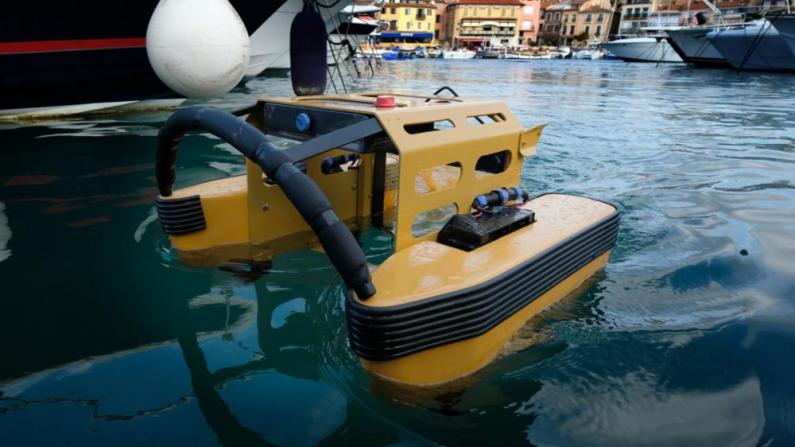 INNOVATION – Un robot méduse pour nettoyer le port de Marseille