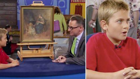 Ce garçon achète un tableau pour 2 $ – mais quand l'expert d'Antiques Roadshow lui annonce sa valeur, il est sidéré