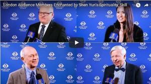 Des membres du public londonien enthousiasmés par la spiritualité et le talent de Shen Yun
