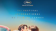 Cannes 2018: un baiser tiré du film «Pierrot le fou» à l'affiche