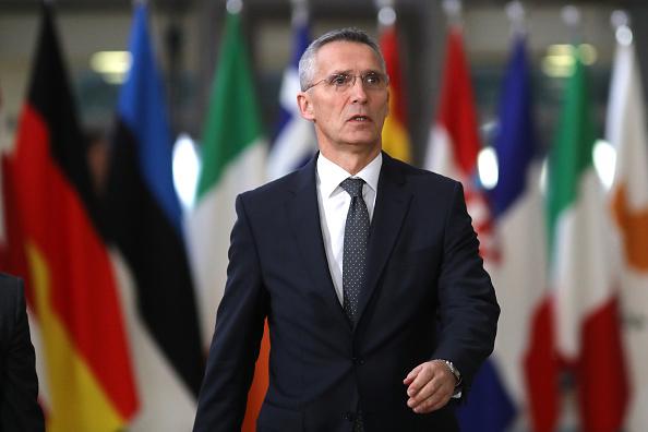 L'OTAN «soutient» les frappes occidentales contre la Syrie