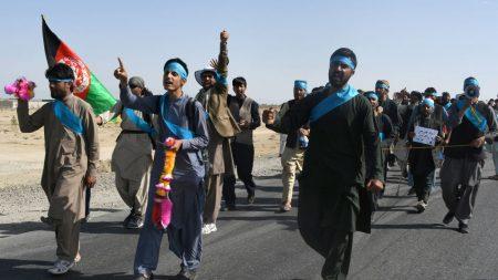 Marche ou crève pour la paix en Afghanistan