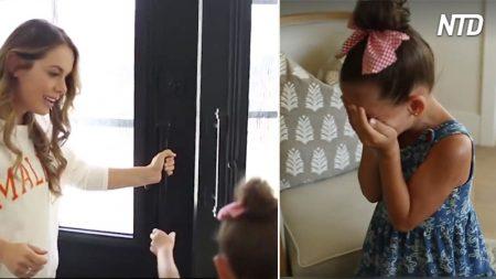 Une petite fille survit à une bataille de 7 mois contre la leucémie. 3 ans plus tard, elle rencontre son sauveur