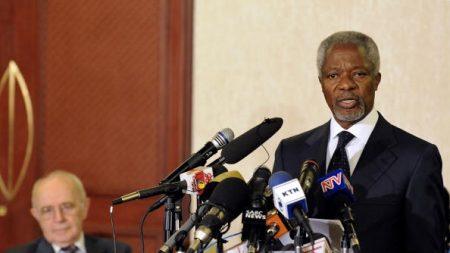 Mort de Kofi Annan, ancien chef de l'ONU et vedette de la diplomatie mondiale