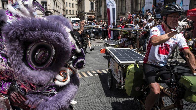 De Lyon à Canton en vélo solaire: un Belge remporte en Chine la course «Sun Trip»