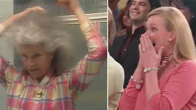 Une mère garde la même coiffure bouffante depuis 37 ans. Ses filles sont stupéfaites de la voir après son relooking