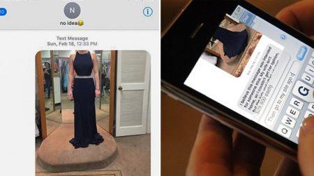 Une dame compose le mauvais numéro et demande une seconde opinion sur sa robe, la réponse l'a ravie