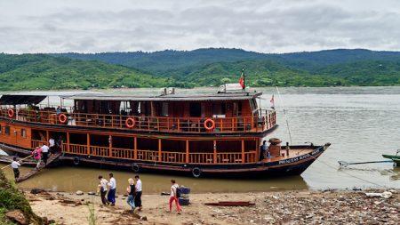8 jours de croisière nonchalante sur l'Ayeyarwaddy, au Myanmar