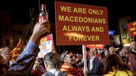 Référendum en Macédoine: plus de 90% pour changer le nom (résultats partiels)