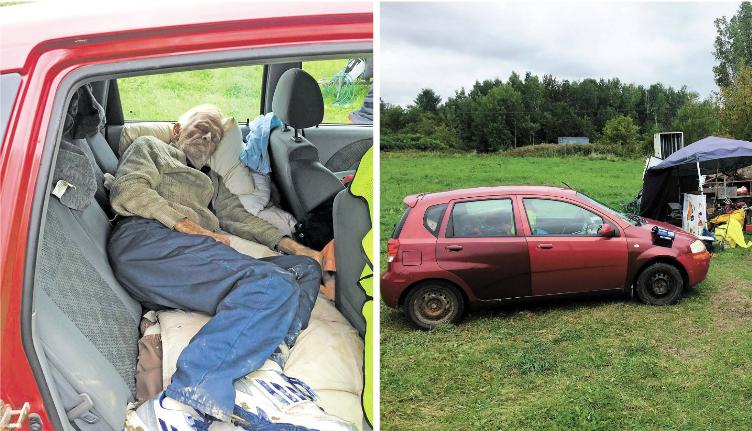 Canada: à 80 ans, il perd sa maison et dort dans sa voiture pendant tout l'été – puis de bons samaritains interviennent