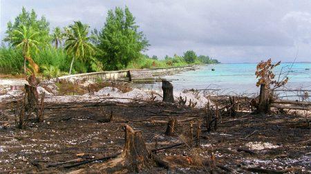Essais nucléaires en Polynésie: l'archipel porte plainte contre la France pour crimes contre l'humanité