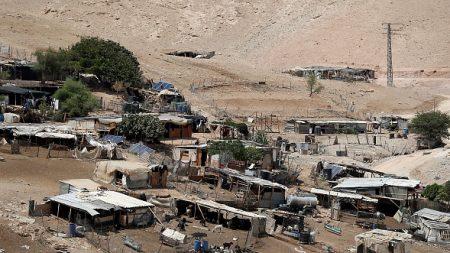 Israël reporte sine die la démolition d'un village bédouin en Cisjordanie