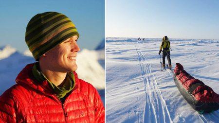 Un drogué d'adrénaline veut être la première personne à traverser l'Antarctique en solitaire