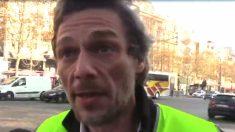 VIDÉO – Un gilet jaune: «C'est citoyen, ça doit rester pacifiste, on n'est pas là pour casser»