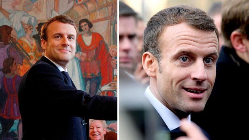 Emmanuel Macron est-il vraiment fatigué? Voici quelques photos qui montrent les différences avant et après l'exercice du pouvoir