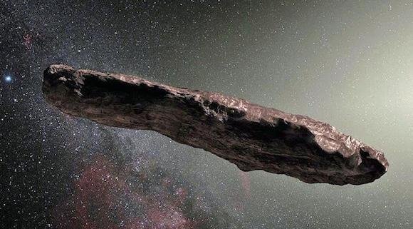 Astéroïde Oumuamua: l'hypothèse extraterrestre est relancée