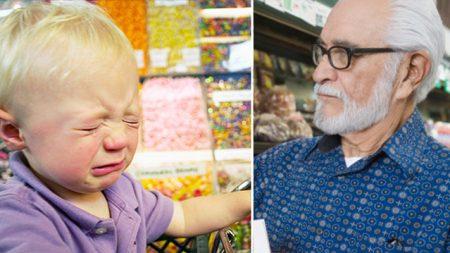 Une étrangère suit un homme âgé et un «petit morveux» au supermarché, mais elle ne s'attendait pas à ce qu'il lui dise ceci