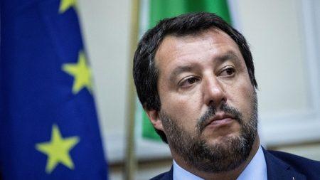 Matteo Salvini prévientles Italiens: «Quiconque se réjouit de l'attaque terroriste en France sera immédiatement arrêté»