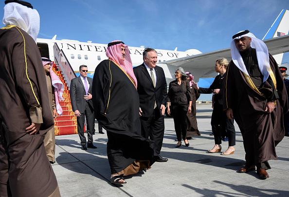 Arrivée de Mike Pompeo à Bahreïn, première étape d'une tournée dans le Golfe