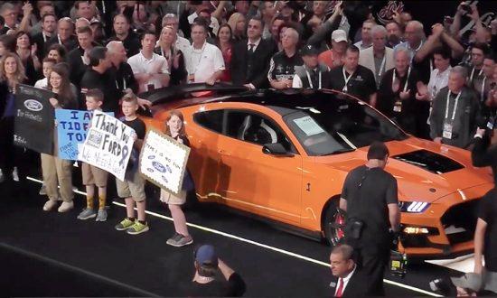 La première Ford Mustang 2020 se vend 1,1 million de dollars US (presque un million d'euros) pour aider les enfants souffrant de diabète.