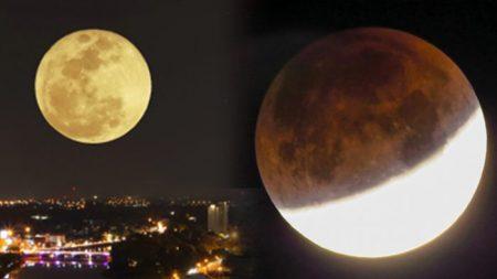 Une «super lune» sera en éclipse totale pour nous offrir un spectacle céleste exceptionnel – et ça s'annonce splendide