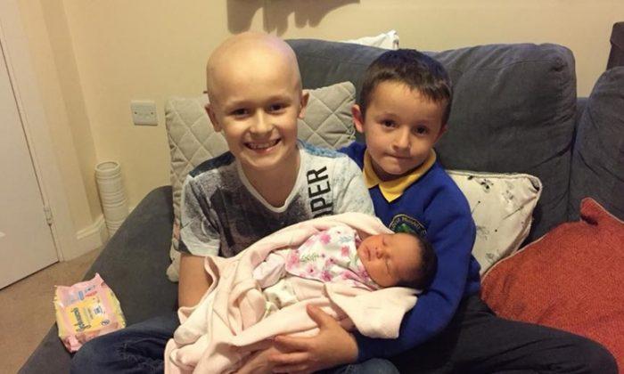 «Je veux rencontrer ma petite sœur», a déclaré avec détermination un patient atteint du cancer âgé de 9 ans