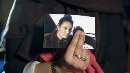 Une écolière qui s'était enfuie pour rejoindre Daesh n'a pas de regrets, mais demande à être réadmise au Royaume-Uni pour donner naissance
