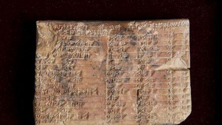 La traduction d'une mystérieuse tablette babylonienne vieille de 3700 ans a été rendue publique