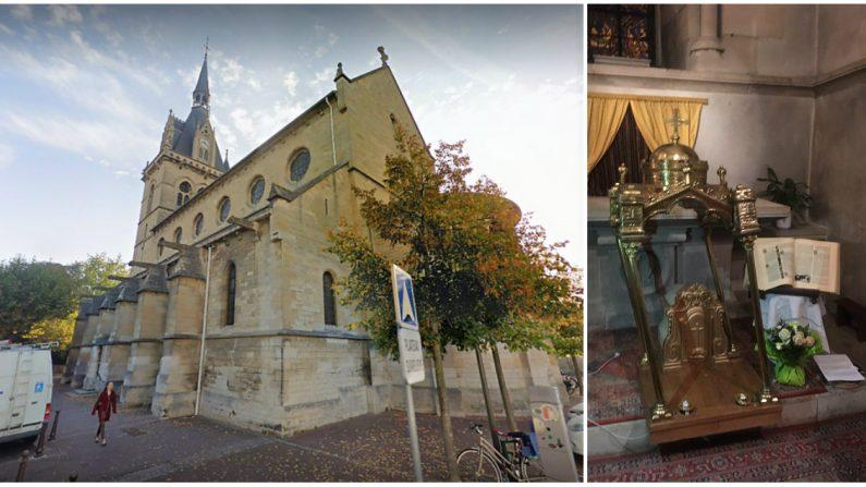 Christianophobie: une nouvelle église des Yvelines victime d'un acte de vandalisme