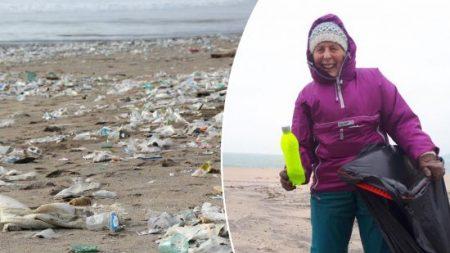 Une «mamie à l'action», âgée de 70 ans, nettoie 52 plages et lance une campagne radicale contre les matières plastiques