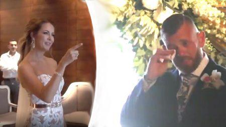 Une mariée apprend en secret le langage des signes pour son mariage afin de transmettre un message qui changera la vie de son époux