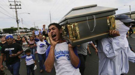 Les Nicaraguayens suivent le Venezuela et Cuba et protestent contre le régime socialiste