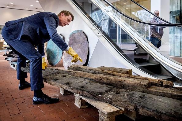 Pays-Bas: des chercheurs tombent par hasard sur une épave du XVIe siècle